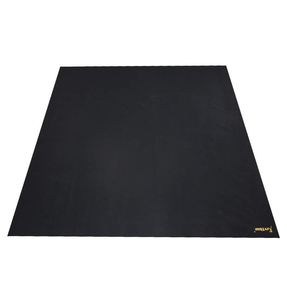 Extreme Large Exercise Rubber Mat 8\'x6\'Black – RevTime