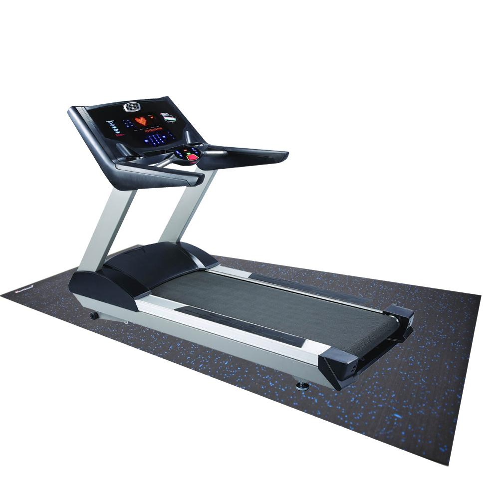 Treadmill Mat Amp Fitness Rubber Mat 6 5 X3 Black Revtime